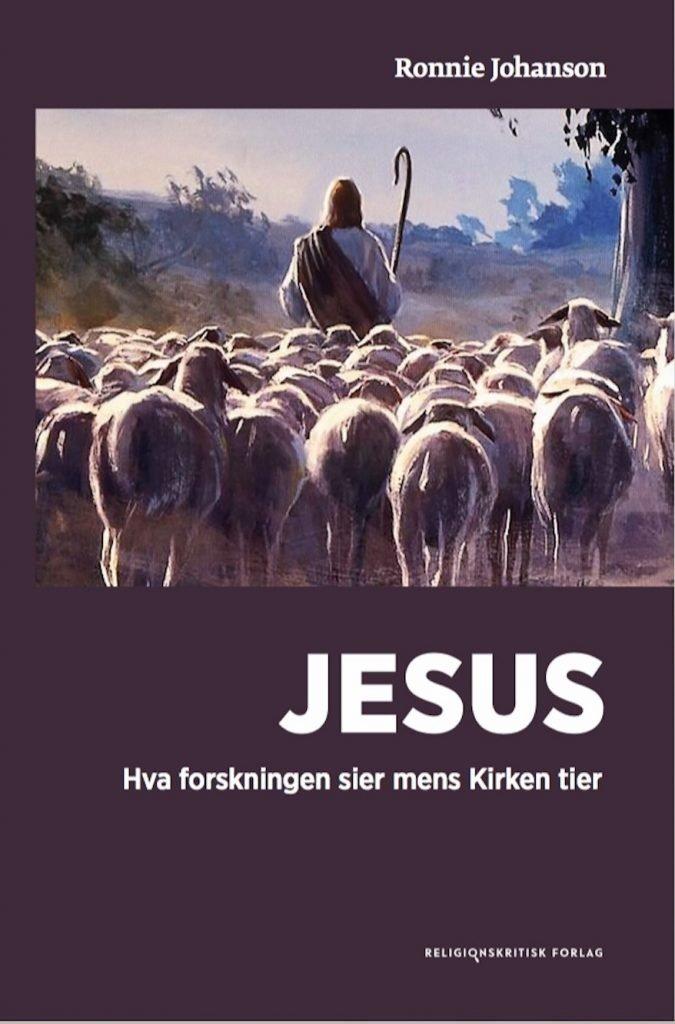 Jesus-hva-forskningen-sier-mens-kirken-tier-forside-Ronnie-Johanson