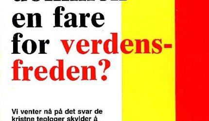 Er kristendommen en fare for verdensfreden