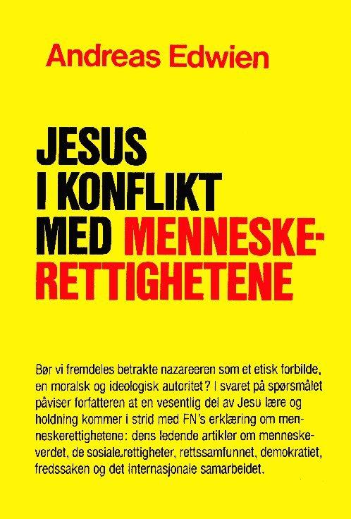 Bokomslag. Jesus i konflikt med menneskerettighetene