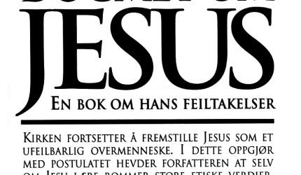 Bokomslag. Dogmet om Jesus