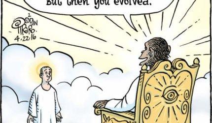 Mennesket utviklet seg videre, men har «Gud» gjort det samme?