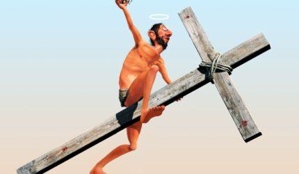 Illustrasjon-Ragnar-Børsheim-Jesus-kors