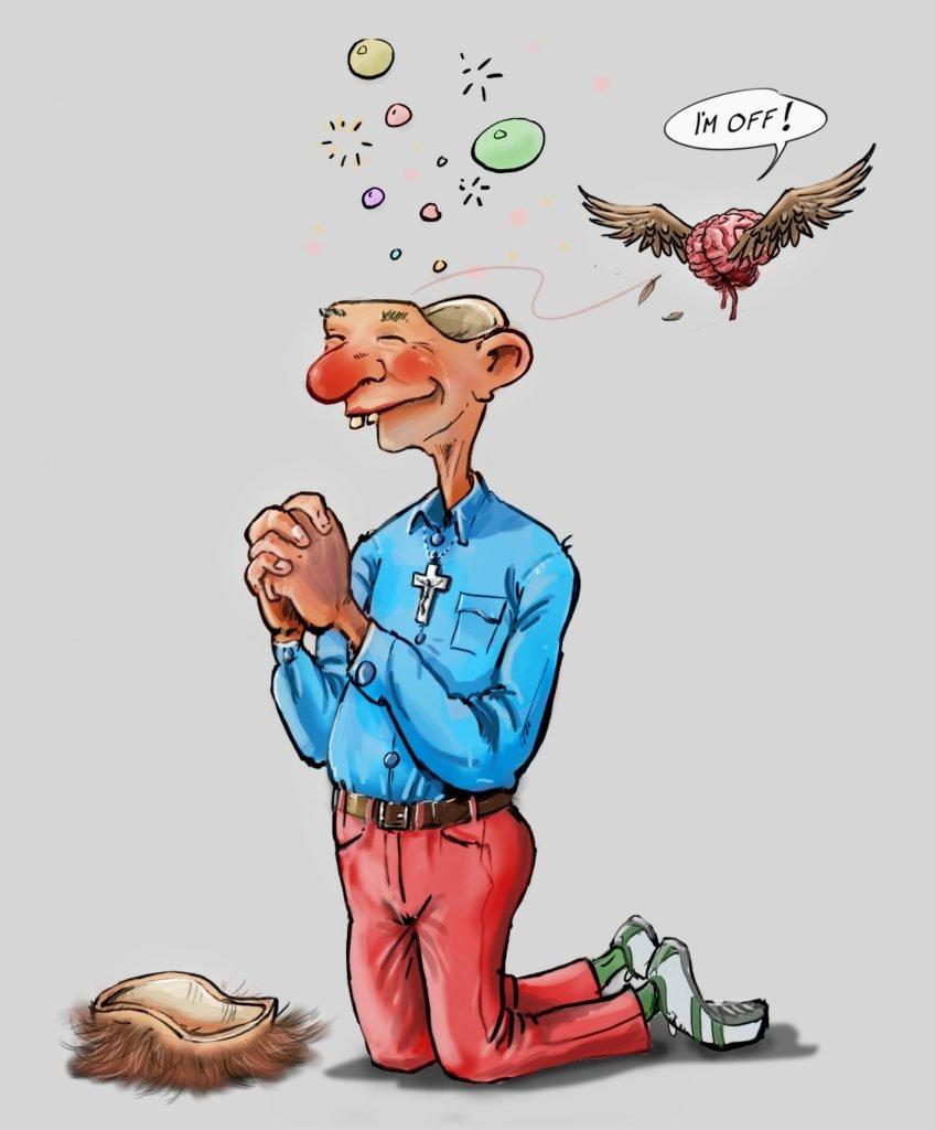 karikatur R.Børsheim