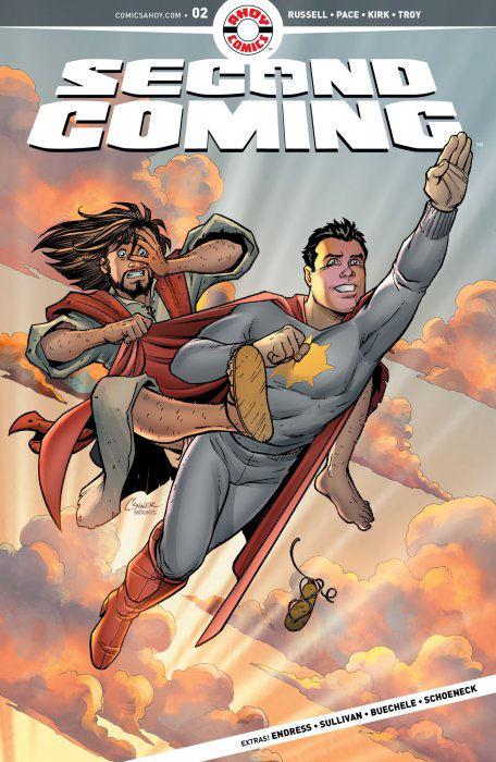 Second Coming: Blasfemi-beskyldt superhelt-tegneserie